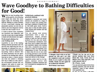 Wave goodbye to bathing difficulties for good!