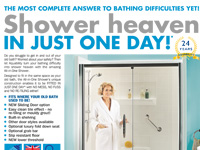 Shower heaven in just one day