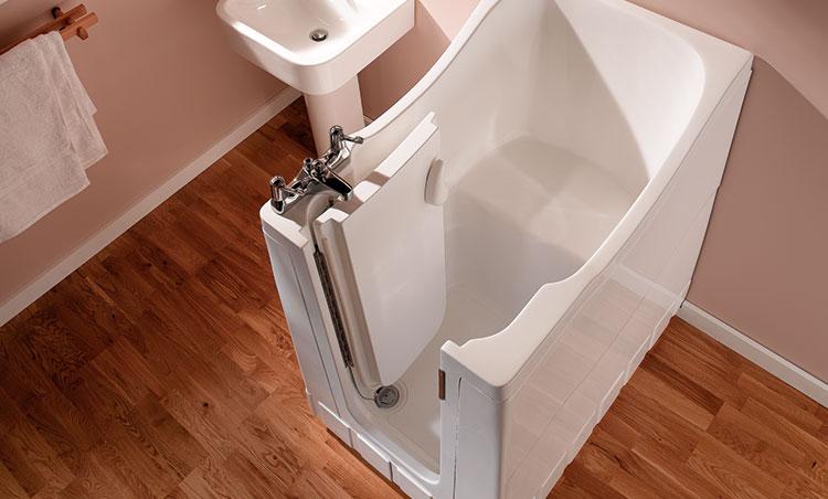 Mini Walk-In Shower Bath | Aquability - photo#10