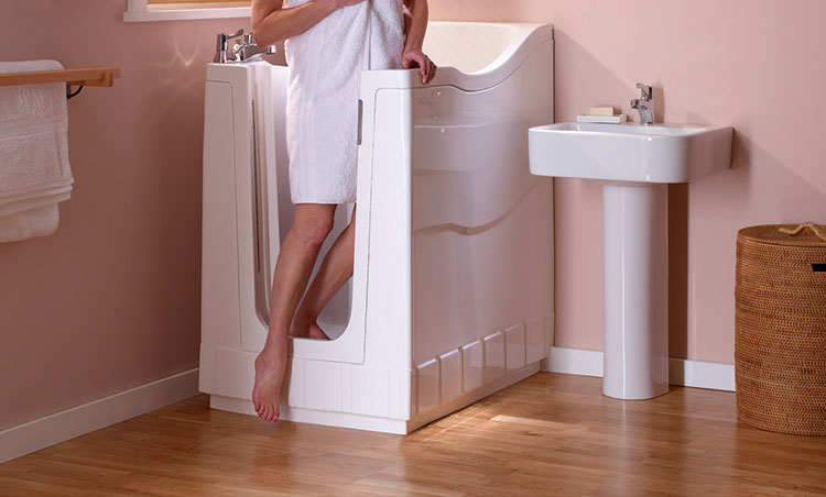 Mini Walk-In Shower Bath | Aquability - photo#8